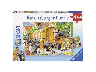 A kukásautó - 2 x 24 db-os puzzle