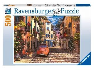 Dél-franciaországi utcakép - 500 db-os puzzle