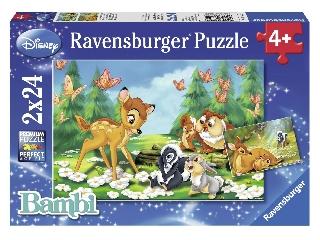 Bambi és barátai - 2 x 24 db-os puzzle