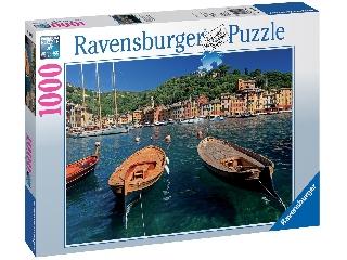 Puzzle 1000 db-os - Az itáliai Portofino öböl
