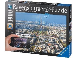 Puzzle 1000 db-os - Párizs a levegőből