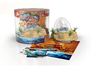 Aqua dragon Jurassic time travel LED világítással