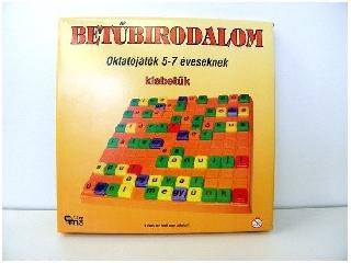 Betűbirodalom oktató társasjáték - Kisbetűk