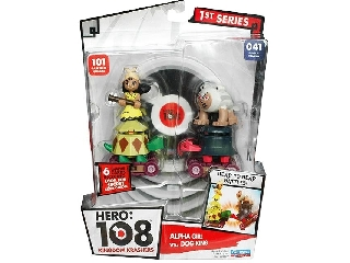 Hero108 2 db-os szett - Alfa Lány + Kutya Király