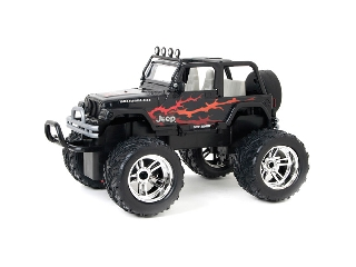 New Bright 1:16 RC Jeep - Wrangler (fekete)