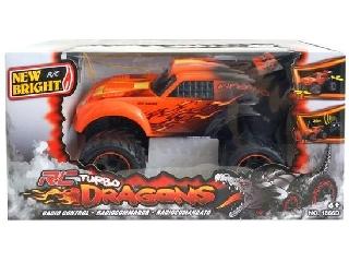 New Bright - Turbo Dragons távirányítós autó 1:18 RC F.F. - narancs