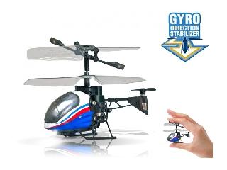 Távirányítású NANO Falcon helikopter - fehér-kék