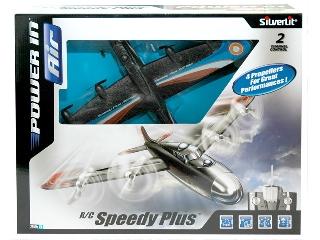 Speedy Plus Távirányítós Repülőgép - fekete-kék