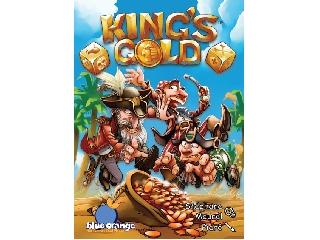 King's Gold kockavető társasjáték