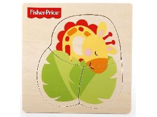 Fisher-Price állatos fa puzzle - Zsiráf