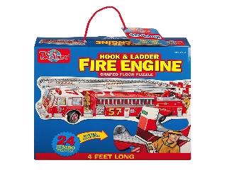 Jumbo padlópuzzle - Tűzoltó autó