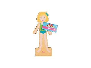 Annie mágneses fa öltöztető baba