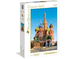 A moszkvai Vörös tér 500 db-os puzzle