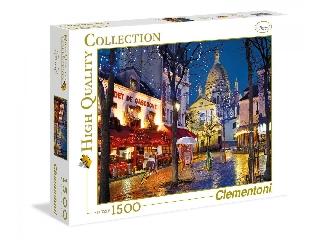 Párizsi utcakép: Montmartre 1500 db-os puzzle