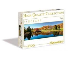 Színes lombú fák a tóparton 1000 db-os puzzle