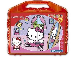 Hello Kitty kocka kirakó 12 db-os
