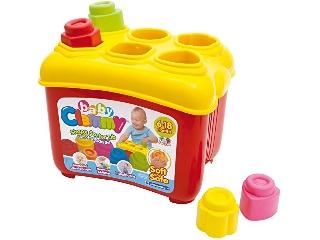 Clementoni Clemmy Baby Formaválogató Építőkocka készlet