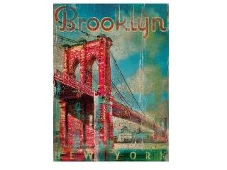Brooklyn-híd 500 db-os fa puzzle