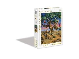 A szavannák állatai 1000 db-os puzzle