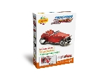3D Puzzle - Piros oldtimer