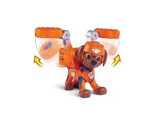 Mancs őrjárat légimentő kutyusok - Zuma figura + jelvény