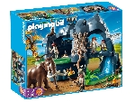 Playmobil: Nagy kőkorszaki barlang mamuttal (5100) - Playmobil