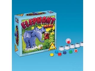 Elefánt memo - memóriatréning