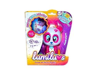 LUMILUVS világító állatkák - Pink maci