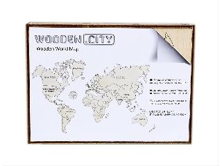 WOODEN CITY - VILÁGTÉRKÉP M