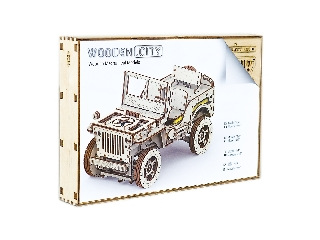 WOODEN CITY - JEEP WILLYS MB 4X4