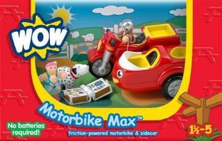 Max oldalkocsis motorkerékpár