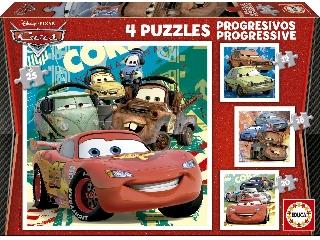 Puzzle 4 az 1-ben - Verdák