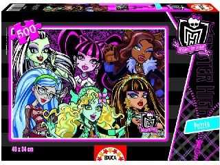 PUZZLE 500 MONSTER HIGH
