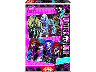 PUZZLE 2X100 MONSTER HIGH
