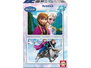 Jégvarázs 2x48 puzzle