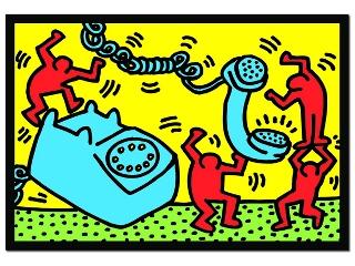 Keith Haring: Telefon - 500 darabos kirakó