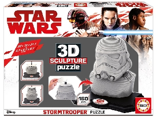 Educa - Star Wars rohamosztagos 3D puzzle szobor, 160 darabos
