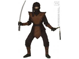 Barna ninja jelmez 128-as méret