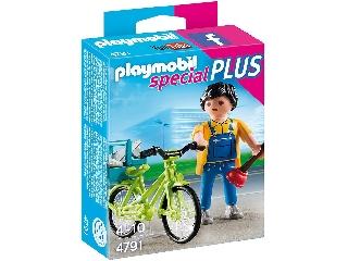 Playmobil - Kerékpáros vízvezeték-szerelő