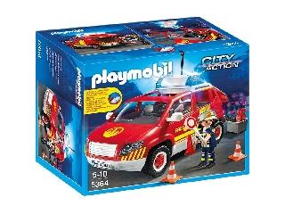 Szirénázó, világító tűzoltóparancsnoki autó 5364