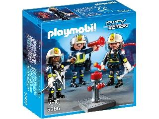 Bevetésre kész tűzoltók 5366