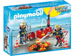 Playmobil - Reptéri tűzoltók
