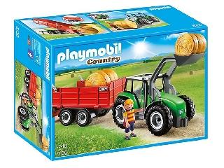 Playmobil - Bálaszállító traktor