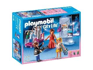 Playmobil - Divatfotós munka közben