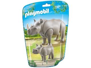 Playmobil - Orrszarvú és kicsinye