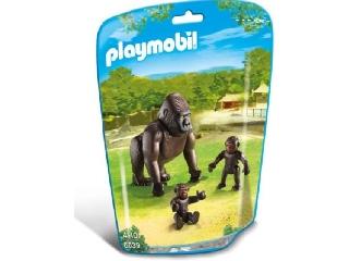 Playmobil - Gorilla és kicsinyei