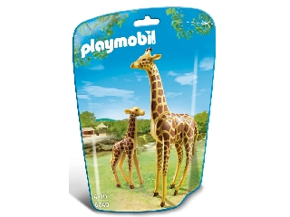 Playmobil - Zsiráf és kicsinye