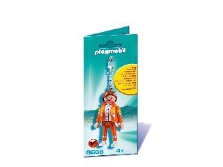 Playmobil - Mentőorvos - kulcstartó