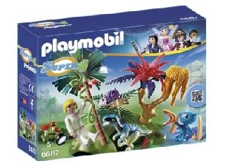 Playmobil Űrlakó a Rejtett szigeten