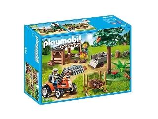 Playmobil - Favágók munka közben